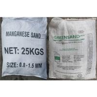Cát Mangan – khử sắt trong nước