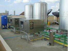 Hệ thống cung cấp nước nóng cho khách sạn và bể bơi